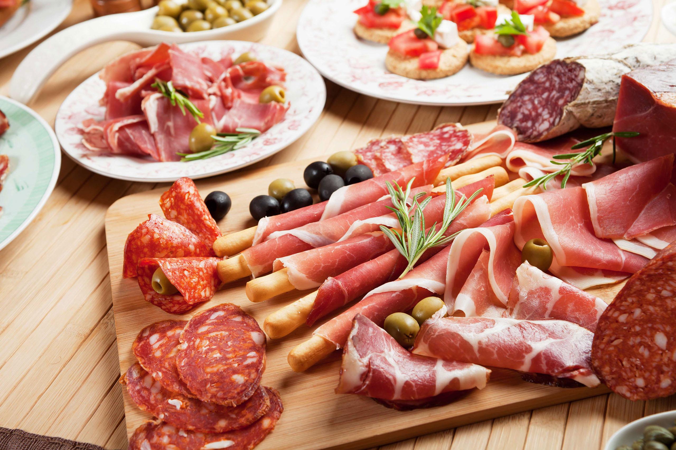 Dicas alimentos embutidos abrigo esperanca
